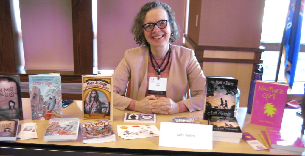 Jane Kelley and some of her books